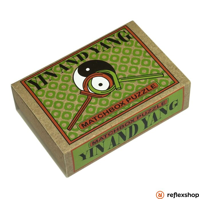 Yin and Yang Matchbox Professor Puzzle ördöglakat