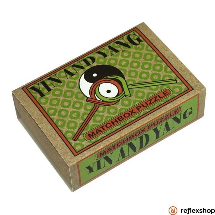 Yin and Yang Matchbox Professor Puzzle ördöglakat