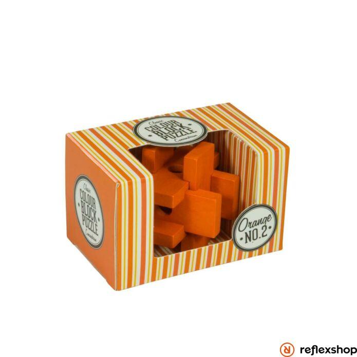 PP színes blokk puzzle narancs
