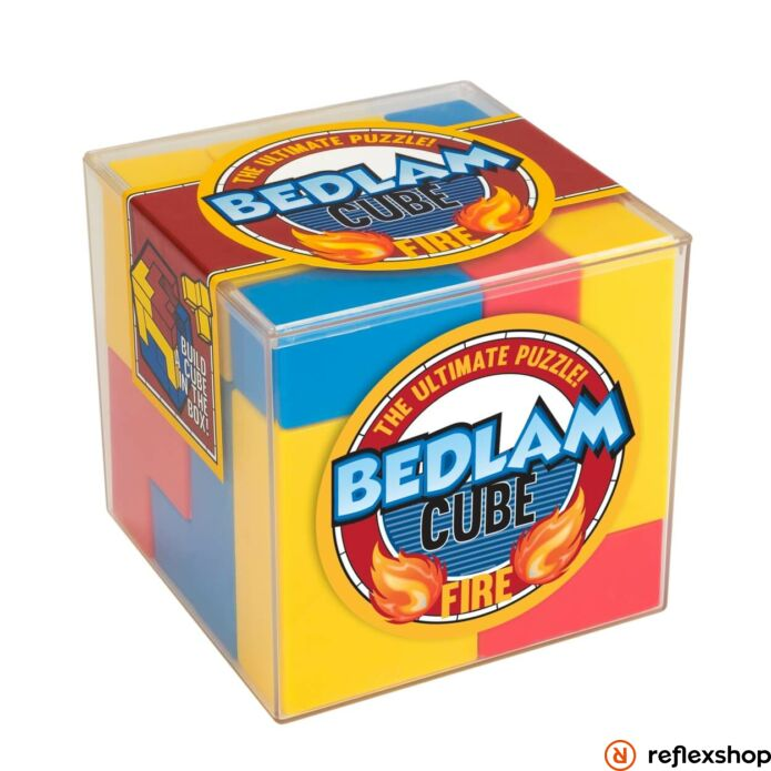 Bedlam Fire Cube Professor Puzzle logikai kirakó