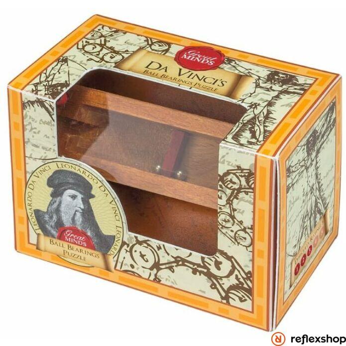 Nagy Elmék - Da Vinci Csapágy Professor Puzzle ördöglakat