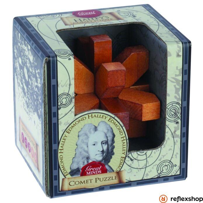 Nagy Elmék - Halley Üstökös Professor Puzzle ördöglakat