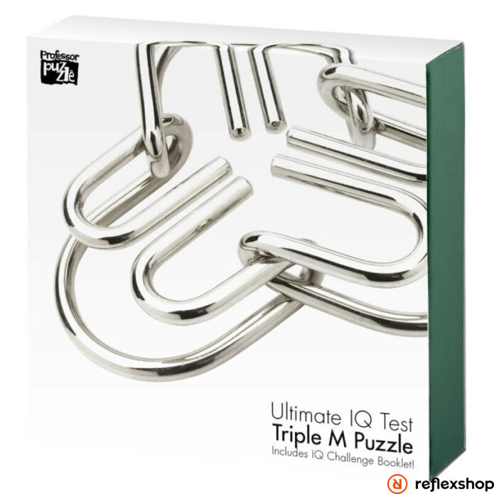 The Triple Menace Professor Puzzle logikai játék
