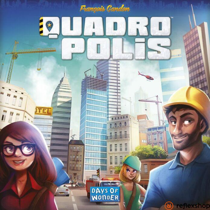 Quadropolis társasjáték, angol nyelvű