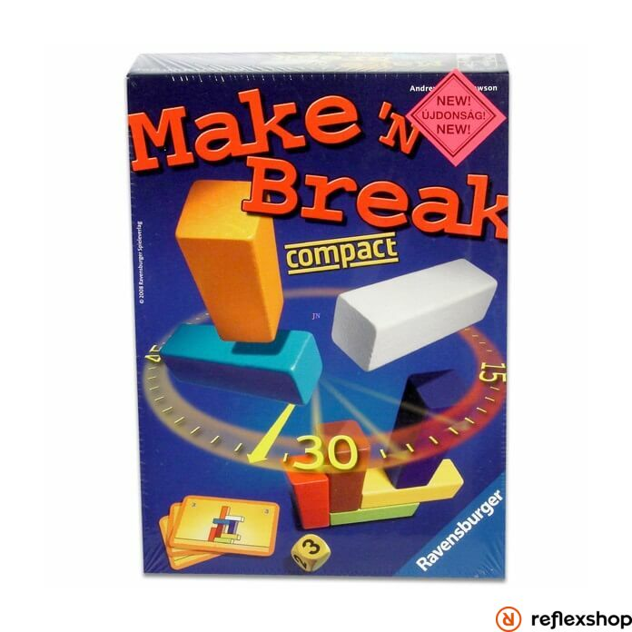 Ravensburger Make'n'Break compact társasjáték