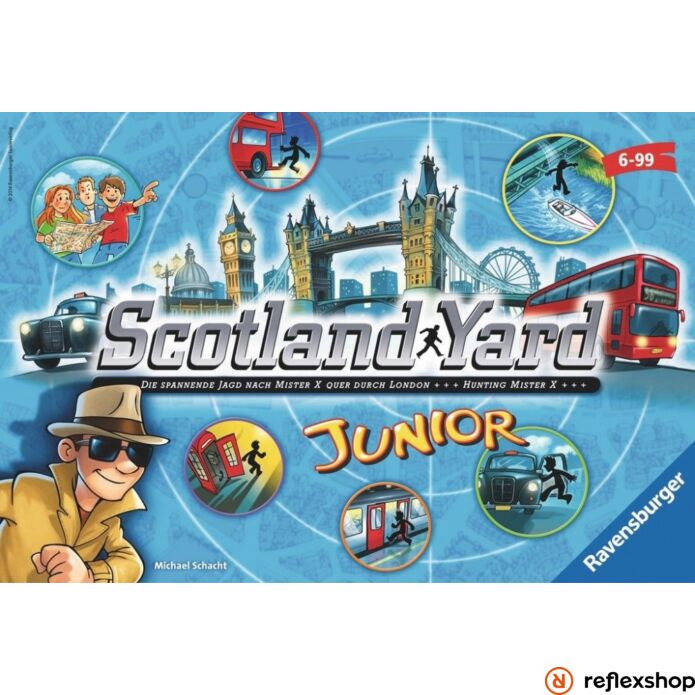 Ravensburger Scotland Yard Junior társasjáték