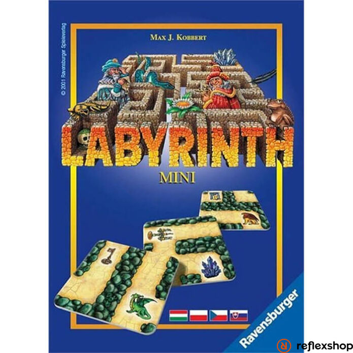 Ravensburger Mini Labirintus társasjáték
