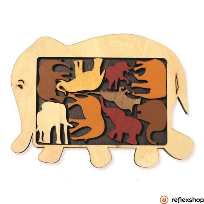 Recent Toys Constantin Arrangement: Elefánt parádé logikai játék