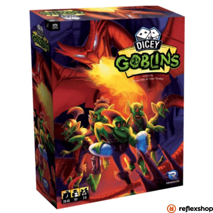 Dicey Goblins angol nyelvű társasjáték