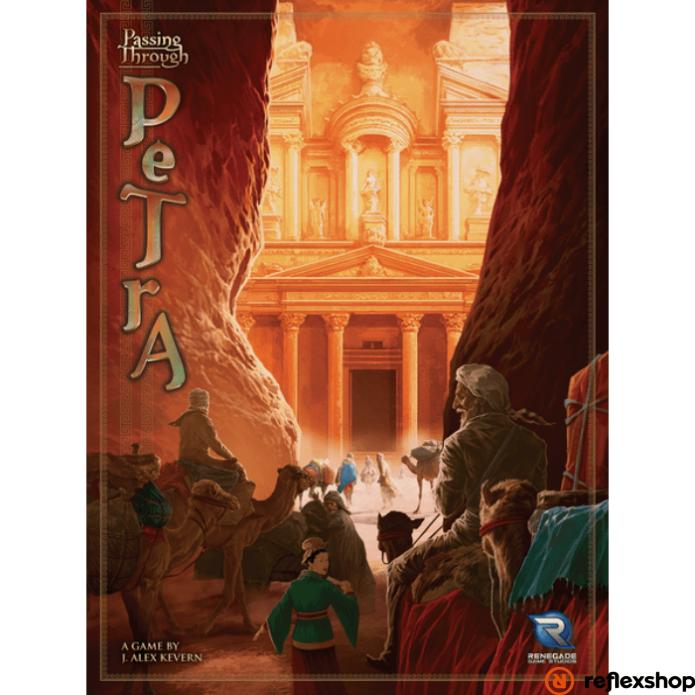 Passing Trough Petra angol nyelvű társasjáték