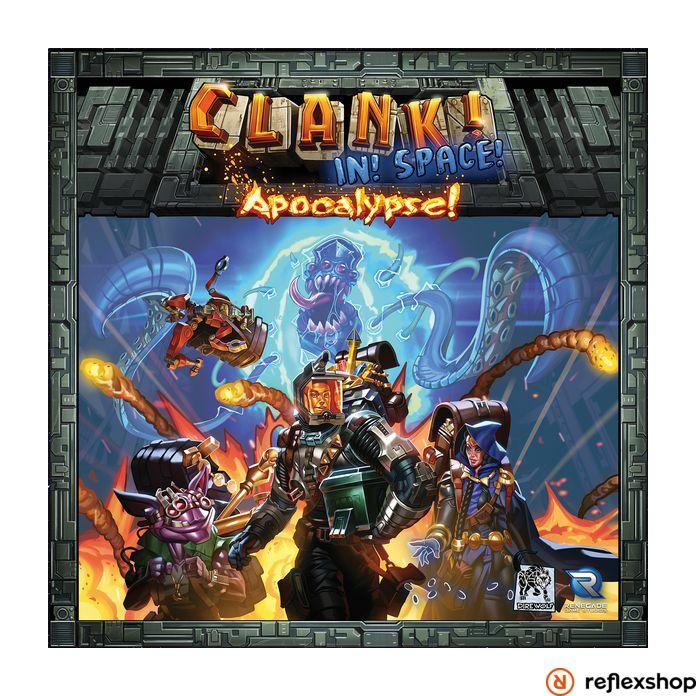 Clank! In! Space! társasjáték Apocalypse! kiegészítő, angol nyelvű