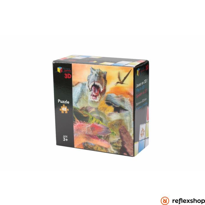Puzzle 3D - 48 pieces - The Dinosaurs