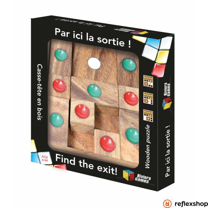 RG Find the exit fa logikai játék
