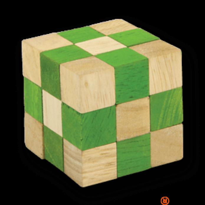 RG Snake kocka zöld