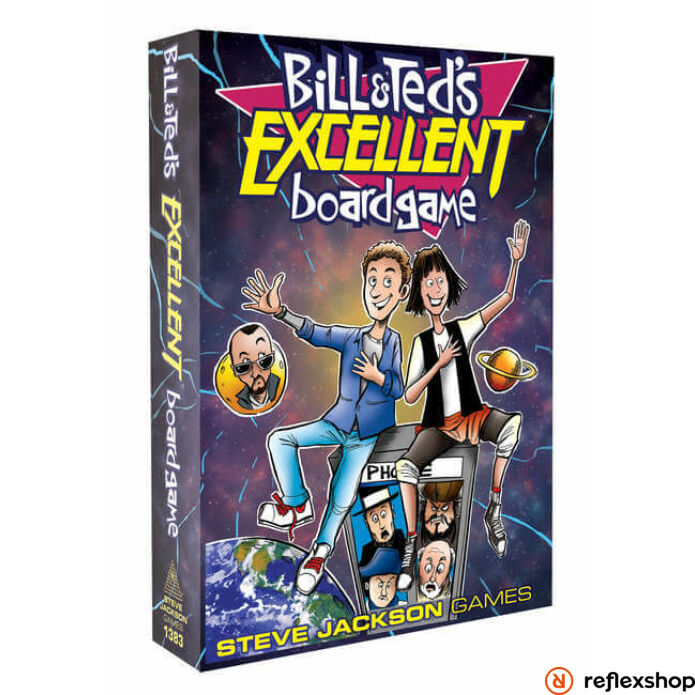 Bill & Ted's Excellent Boardgame angol nyelvű