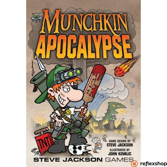 Munchkin Apocalypse angol nyelvű társasjáték