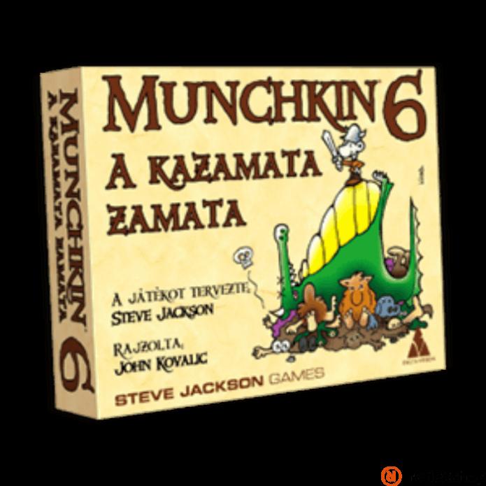 Munchkin 6 társasjáték - A kazamata zamata