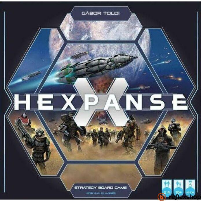 Hexpanse társasjáték, angol nyelvű változat