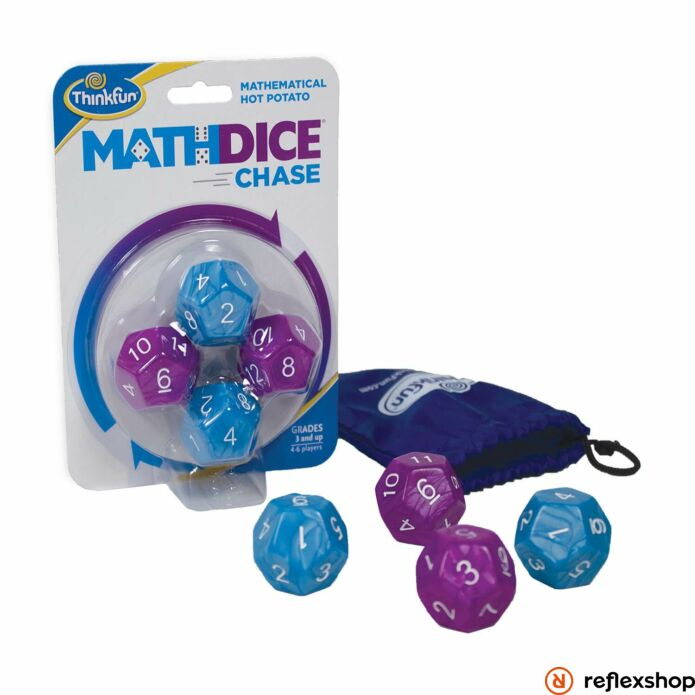 ThinkFun Math dice chase