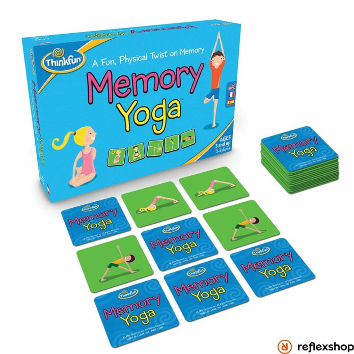 Thinkfun Yoga memóriajáték