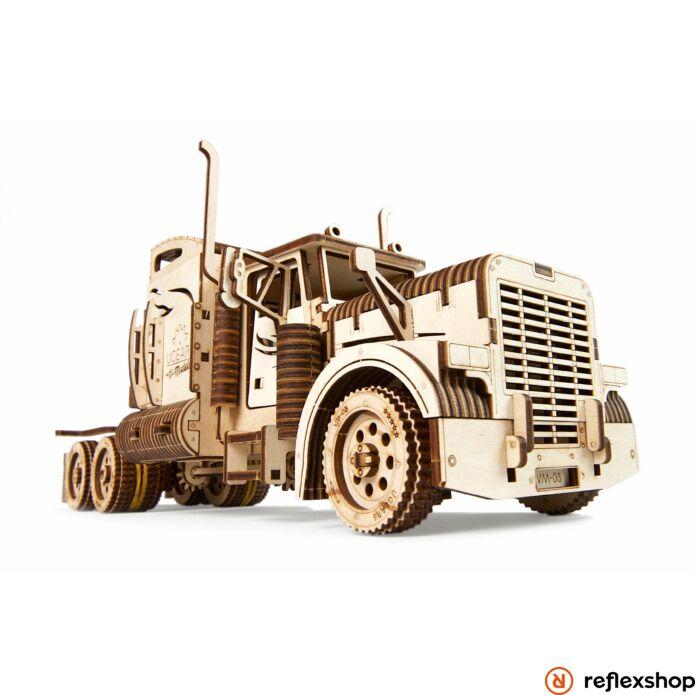 UGEARS Heavy Boy kamion – mechanikus modell