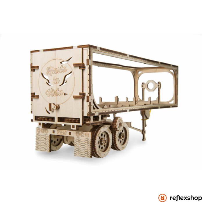 UGEARS Heavy Boy kamion utánfutó – mechanikus modell