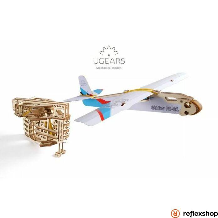 UGEARS Repülő kilövő mechanikus modell