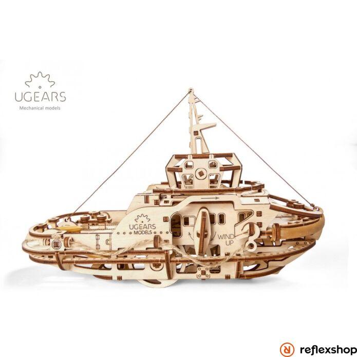 UGEARS Vontatóhajó mechanikus modell
