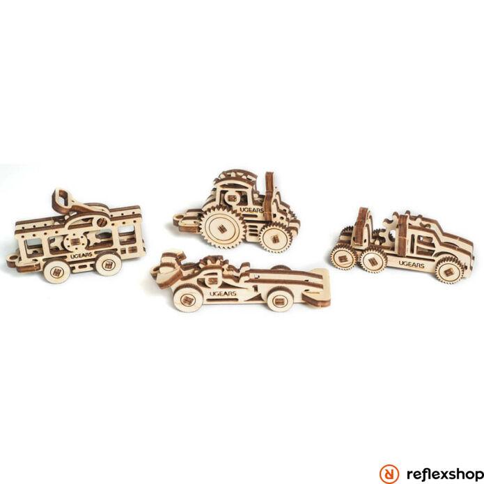 Ugears mini Járművek – mechanikus modell