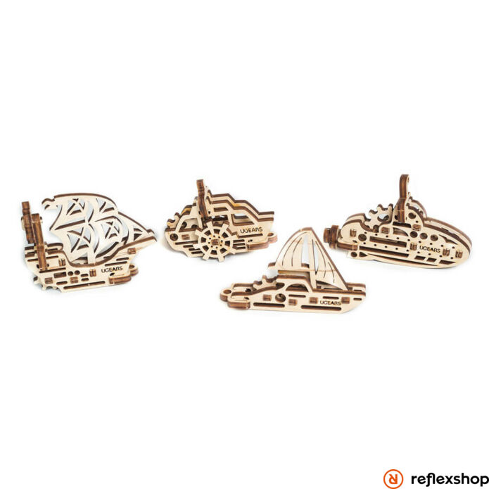 Ugears mini Hajók – mechanikus modell
