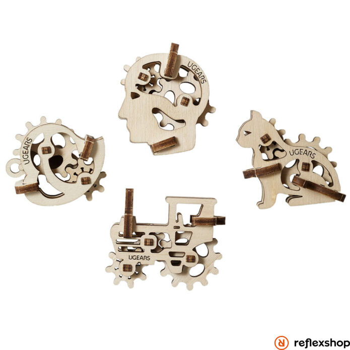 UGears mini vegyes mechanikus modellek