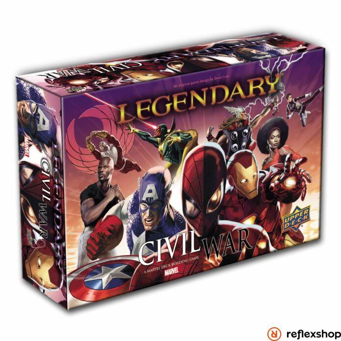 Marvel Legendary: Civil War angol nyelvű kiegészítő