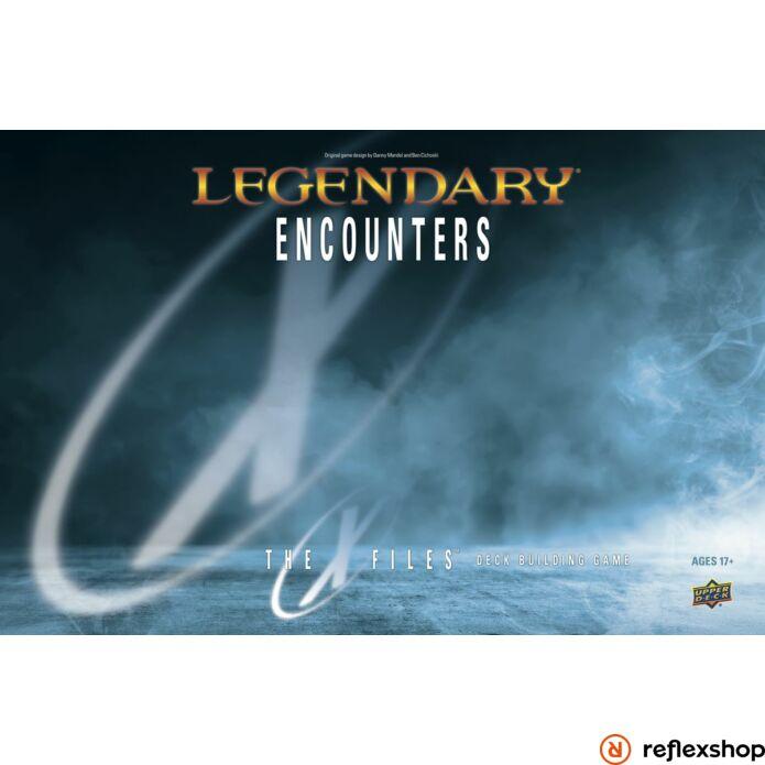 Legendary Encounters: The X-files társasjáték - angol nyelvű társasjáték