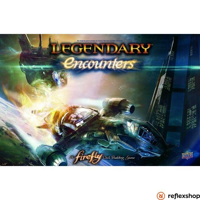 Legendary Encounters Firefly pakliépítő társasjáték, angol nyelvű