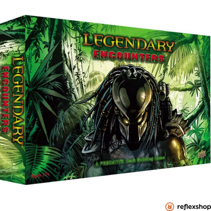 Legendary Encounters Predator pakliépítő társasjáték, angol nyelvű