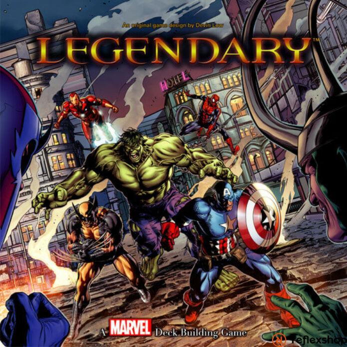 Marvel Legendary pakliépítő társasjáték, angol nyelvű