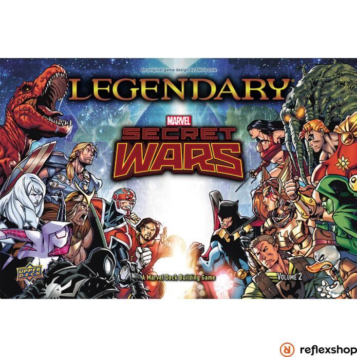 Marvel Legendary Secret Wars Vol2 kiegészítő, angol nyelvű