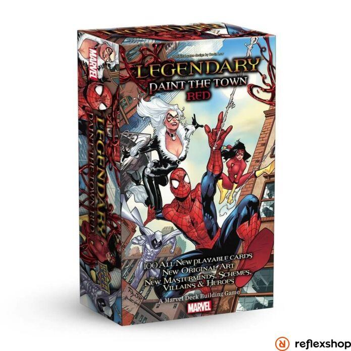 Marvel Legendary Spiderman: Paint Town Red angol nyelvű kiegészítő