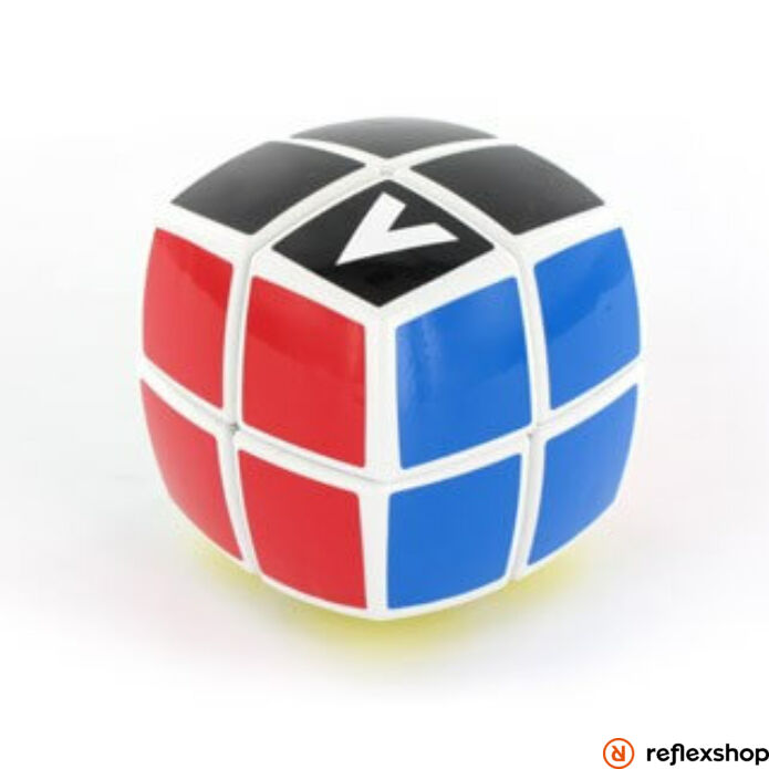 V-Cube 2x2 versenykocka fehér lekerekített matrica nélküli