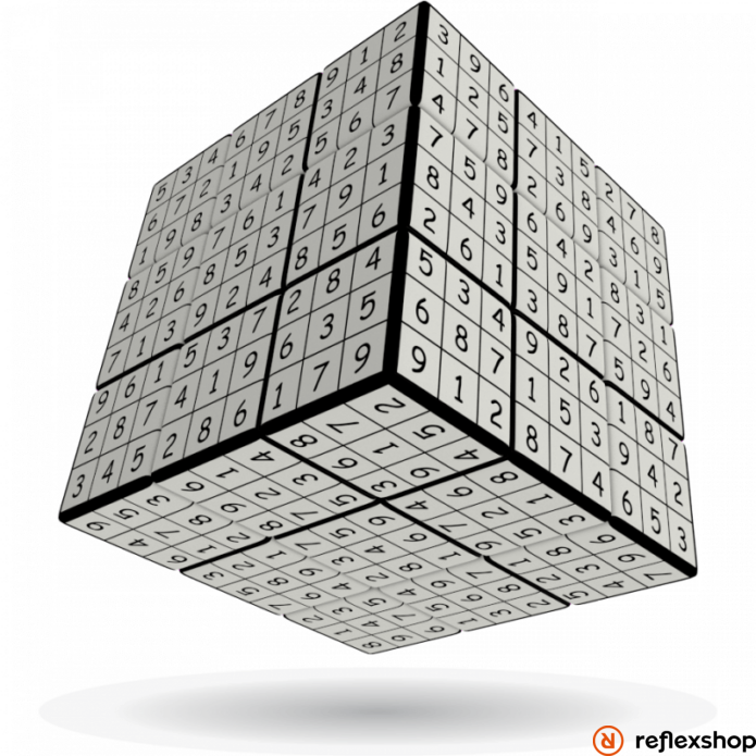 V-Cube 3x3 versenykocka V-udoku