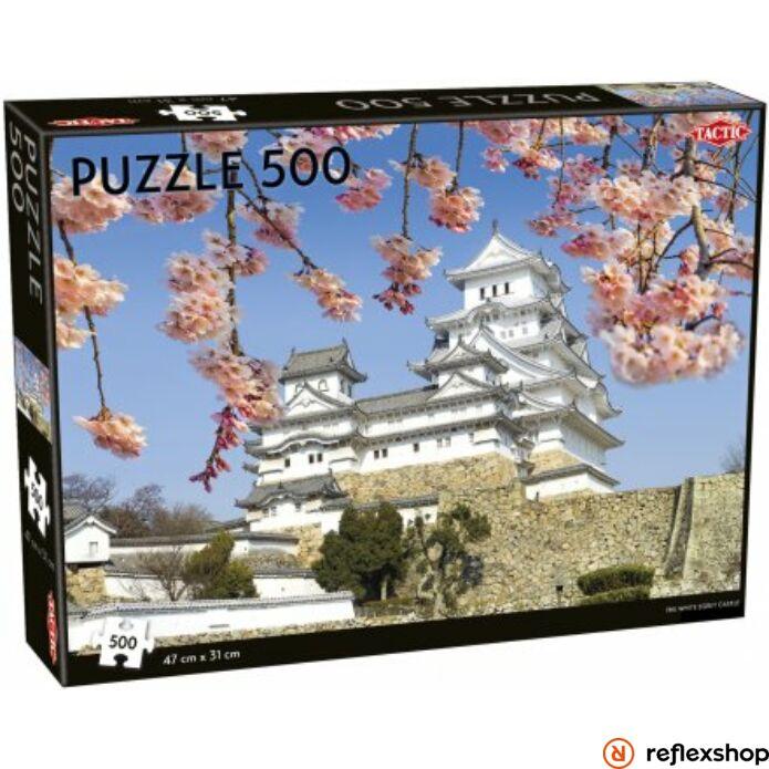 White Egret Castle puzzle 500 pcs