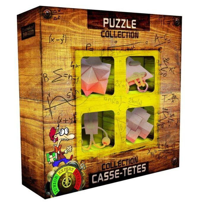 Puzzle collection EXPERT fa ördöglakat szett