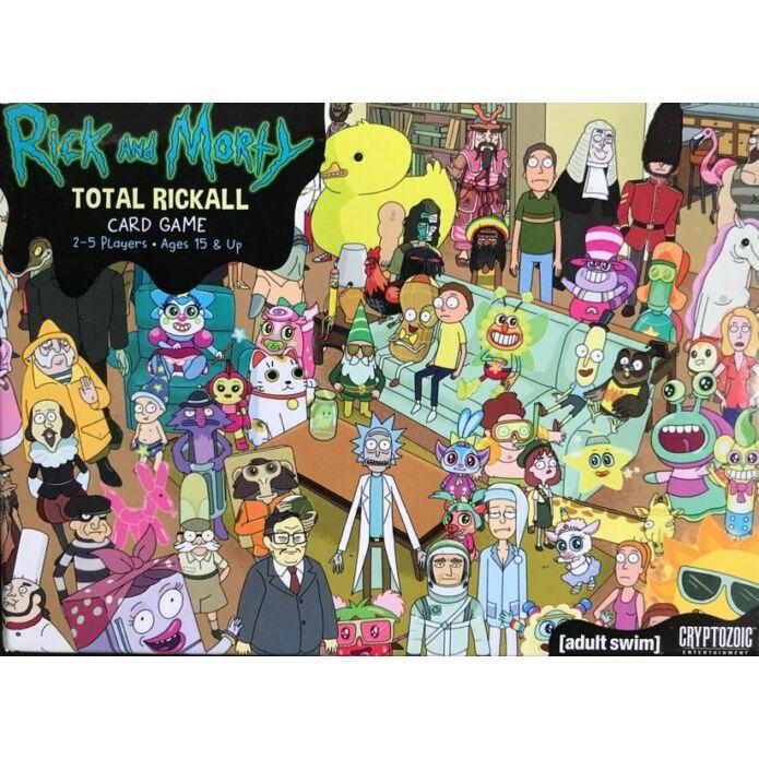Rick and Morty Total Rickall kártyajáték, angol nyelvű