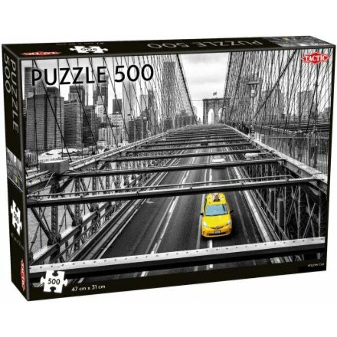 Tactic Sárga taxi puzzle 500 pcs