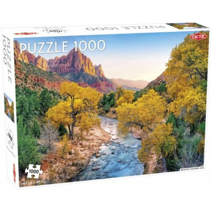 Tactic - Watchman Mountain puzzle 1000 pcs