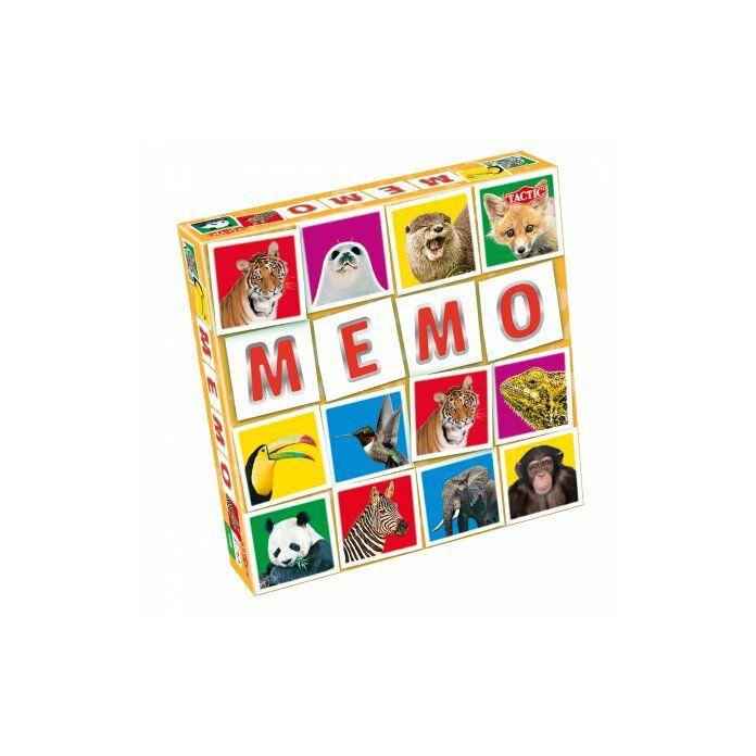 Tactic - Memo Wild Animals társasjáték
