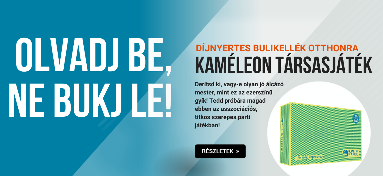 kaméleon óriásplakát banner