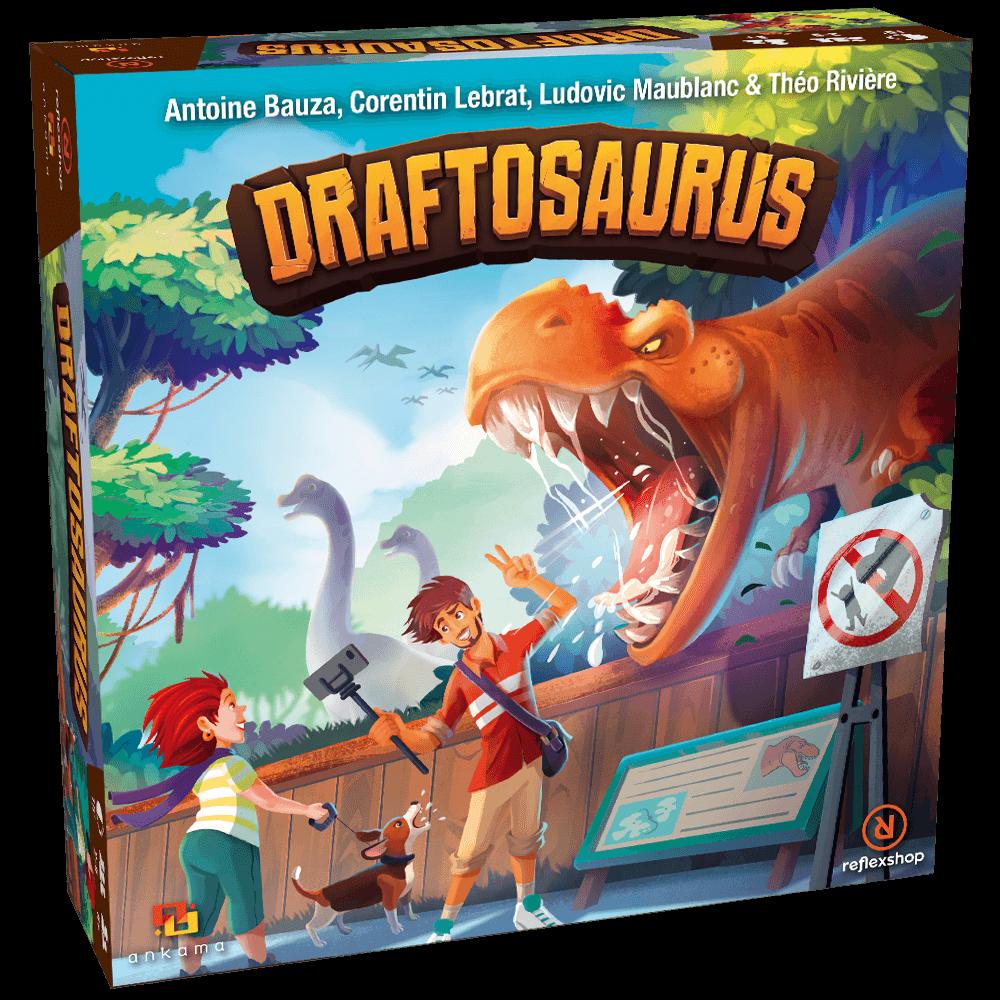 Draftosaurus doboz